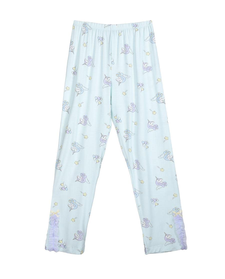 Aimer Kids睡衣|爱慕儿童梦幻独角兽女童长裤AK1420931