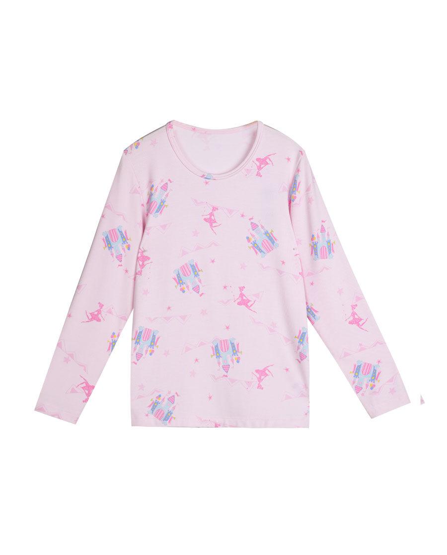 Aimer Kids保暖 爱慕儿童梦幻城堡长袖上衣AK1720682