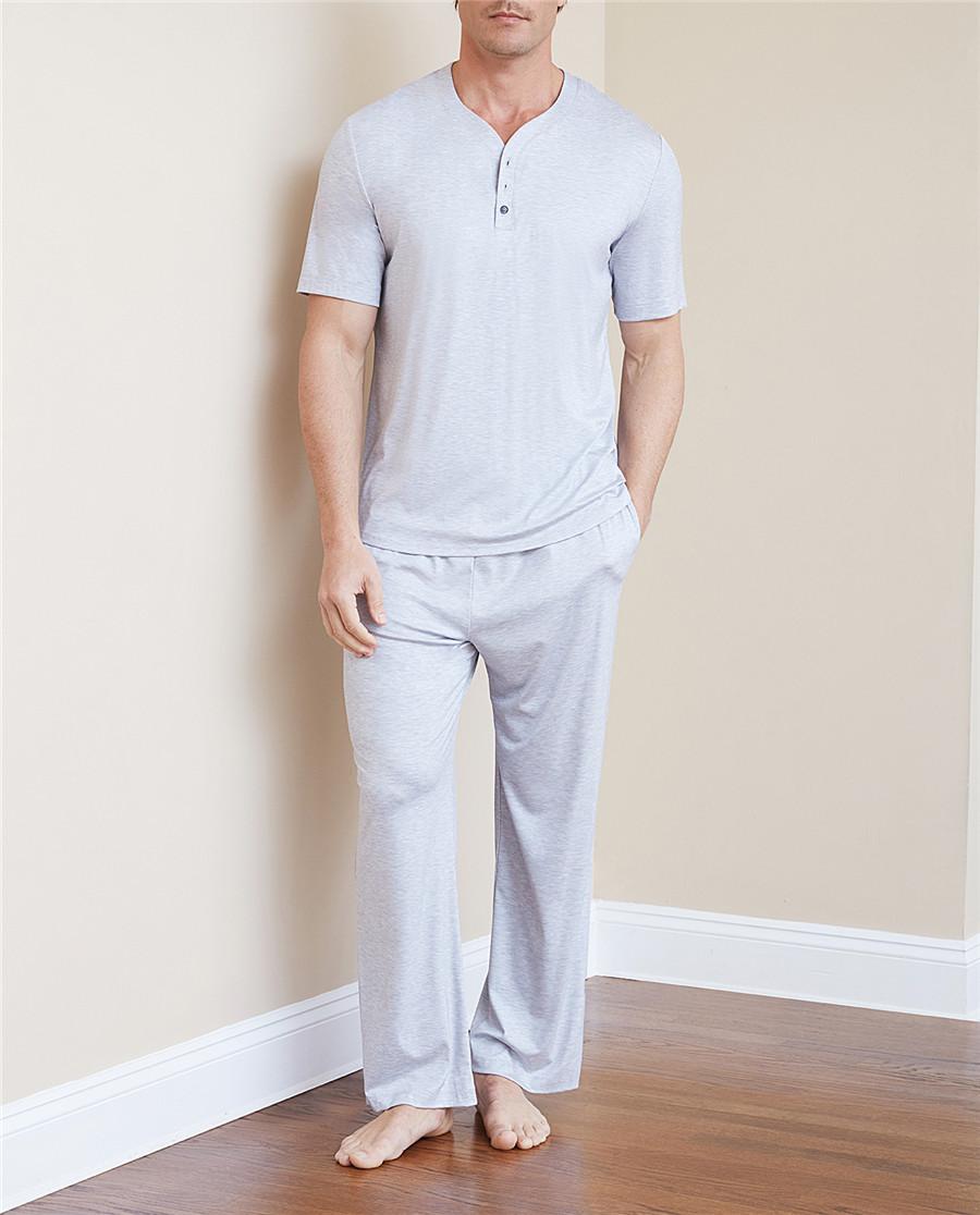 Aimer Men睡衣|爱慕先生纵享丝滑家居长裤NS42C093