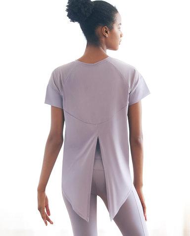 Aimer Sports运动装 爱慕运动优美瑜伽轻薄短袖T恤AS143G81