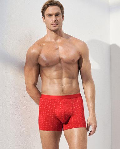 Aimer Men内裤|爱慕先生时尚开运裤装腰平角内裤NS23C281