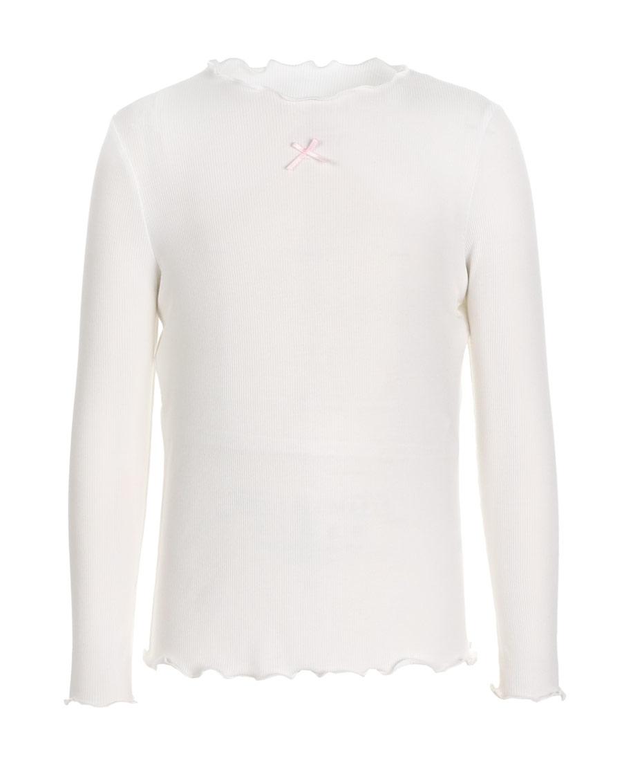 Aimer Kids睡衣|亚洲城儿童薄螺纹打底衫长袖上衣AK1812