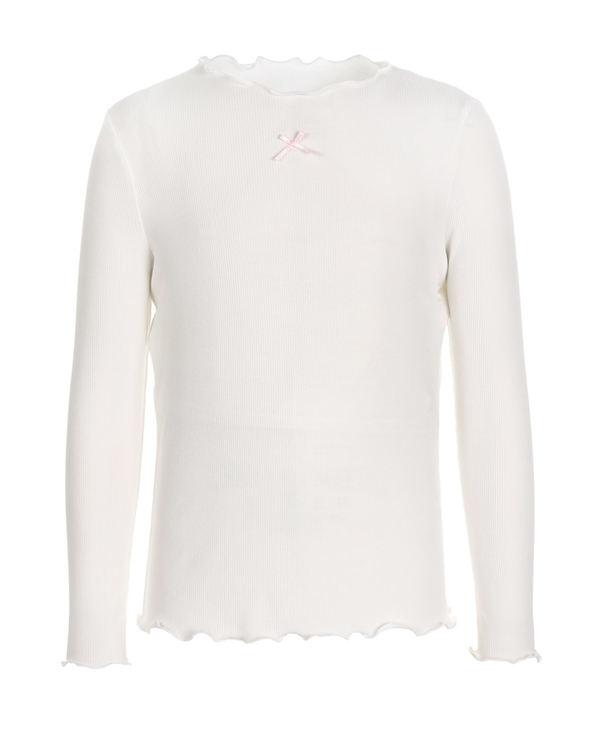 Aimer Kids睡衣 爱慕儿童薄螺纹打底衫长袖上衣AK1812271