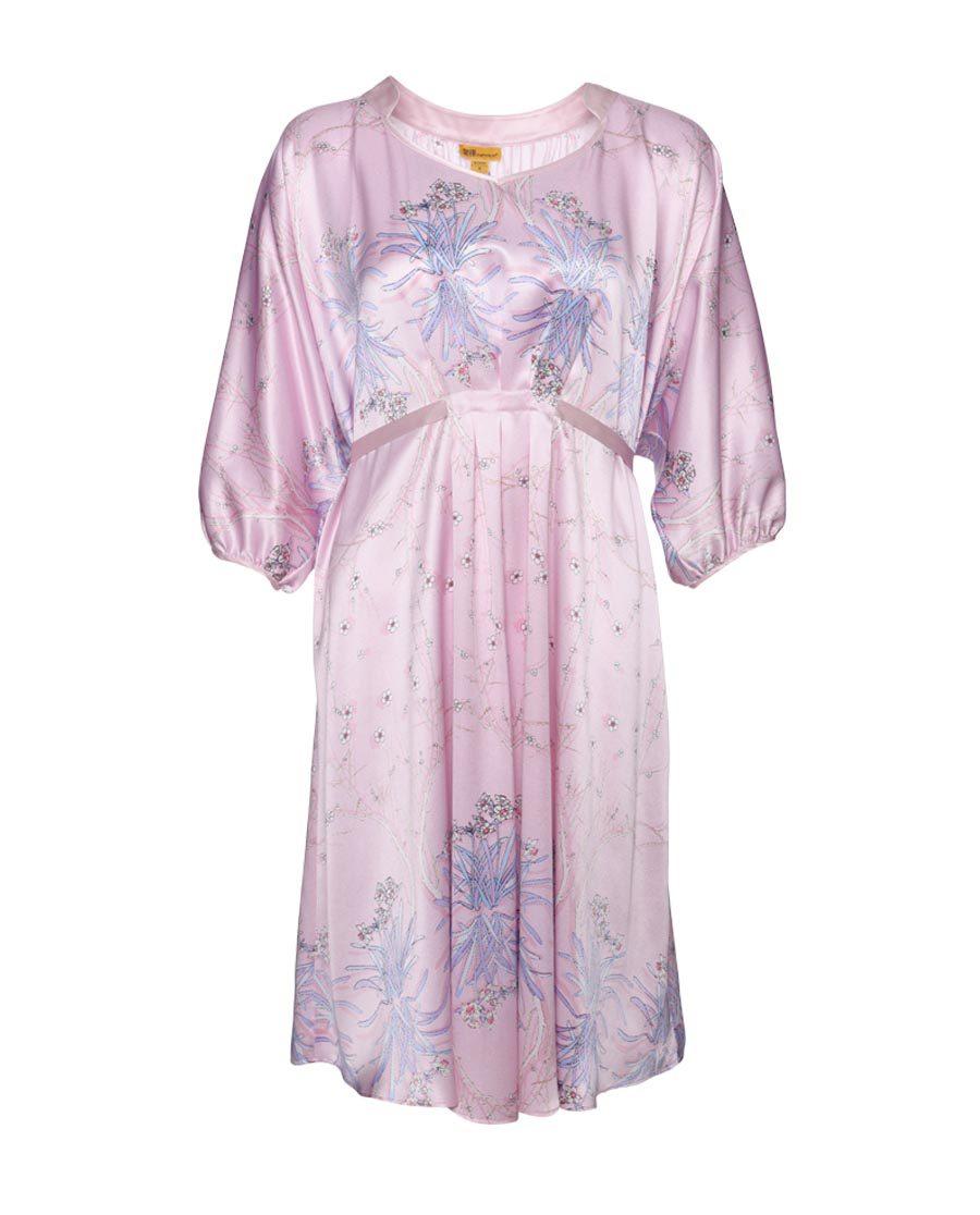 EMPEROR睡衣 皇锦玉台金盏蝙蝠袖连衣裙HJ21193