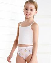 爱慕儿童天使小裤MODAL印花字母动物中腰三角内裤AK1221902