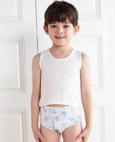 【2件7.5折/5件6折】爱慕儿童天使小裤MODAL印花字母动物中腰三角内裤AK2221901