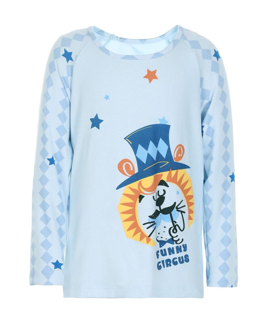 Aimer Kids睡衣|爱慕儿童趣味马戏团套头长袖睡衣AK2411721