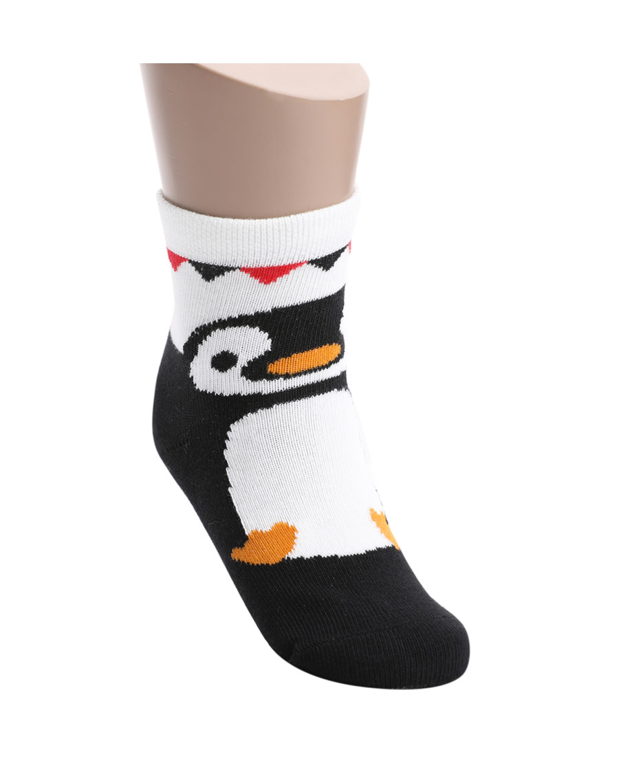 Aimer Kids袜子|爱慕儿童袜子卡通企鹅童袜AK3942465