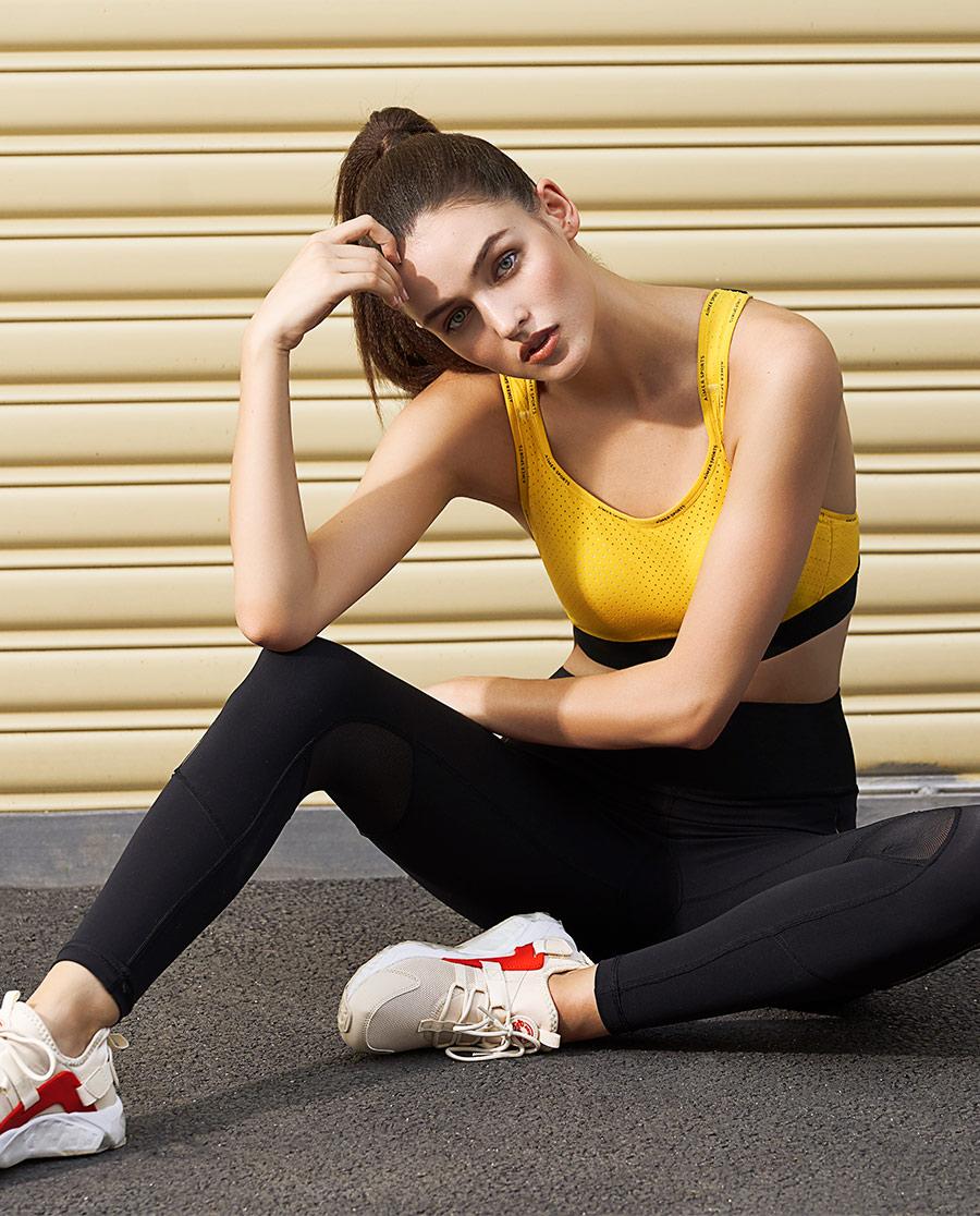 Aimer Sports运动装|爱慕运动iMOVE II紧身跑步长裤AS