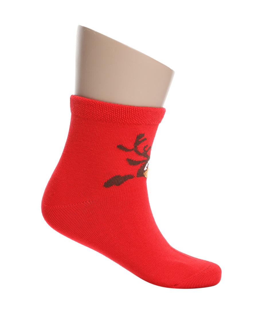 Aimer Kids袜子|爱慕儿童19AW袜子卡通麋鹿童袜AK39