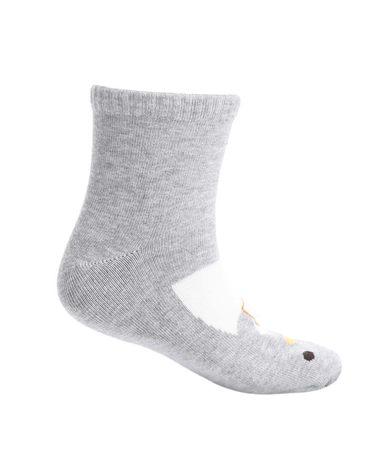 Aimer Kids袜子 爱慕儿童袜子可爱企鹅面包童袜AK2942464