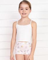 爱慕儿童天使小裤MODAL印花字母动物中腰平角内裤AK1231902