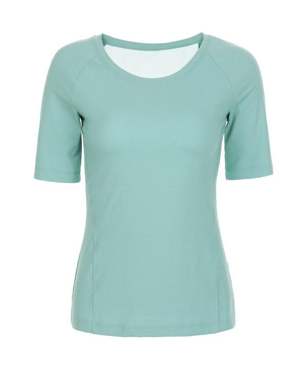 Aimer Sports运动装|爱慕运动格调瑜伽中袖T恤AS143H41
