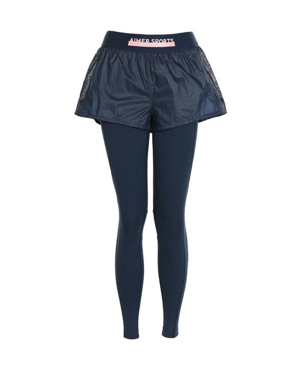 Aimer Sports運動裝|愛慕運動美力領跑兩件套跑步長褲AS153H34