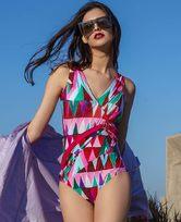 LA CLOVER缤纷夏日系列连体泳衣LC68HK1