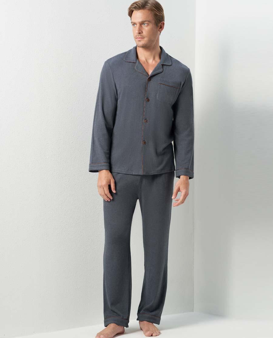 Aimer Men睡衣|亚洲城娱乐天竺绒家居裤子NS42C571