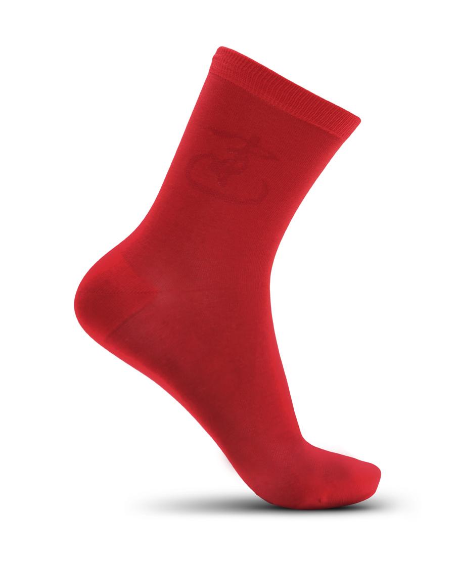 Aimer Men袜子|爱慕先生开运红品短袜NS94W014