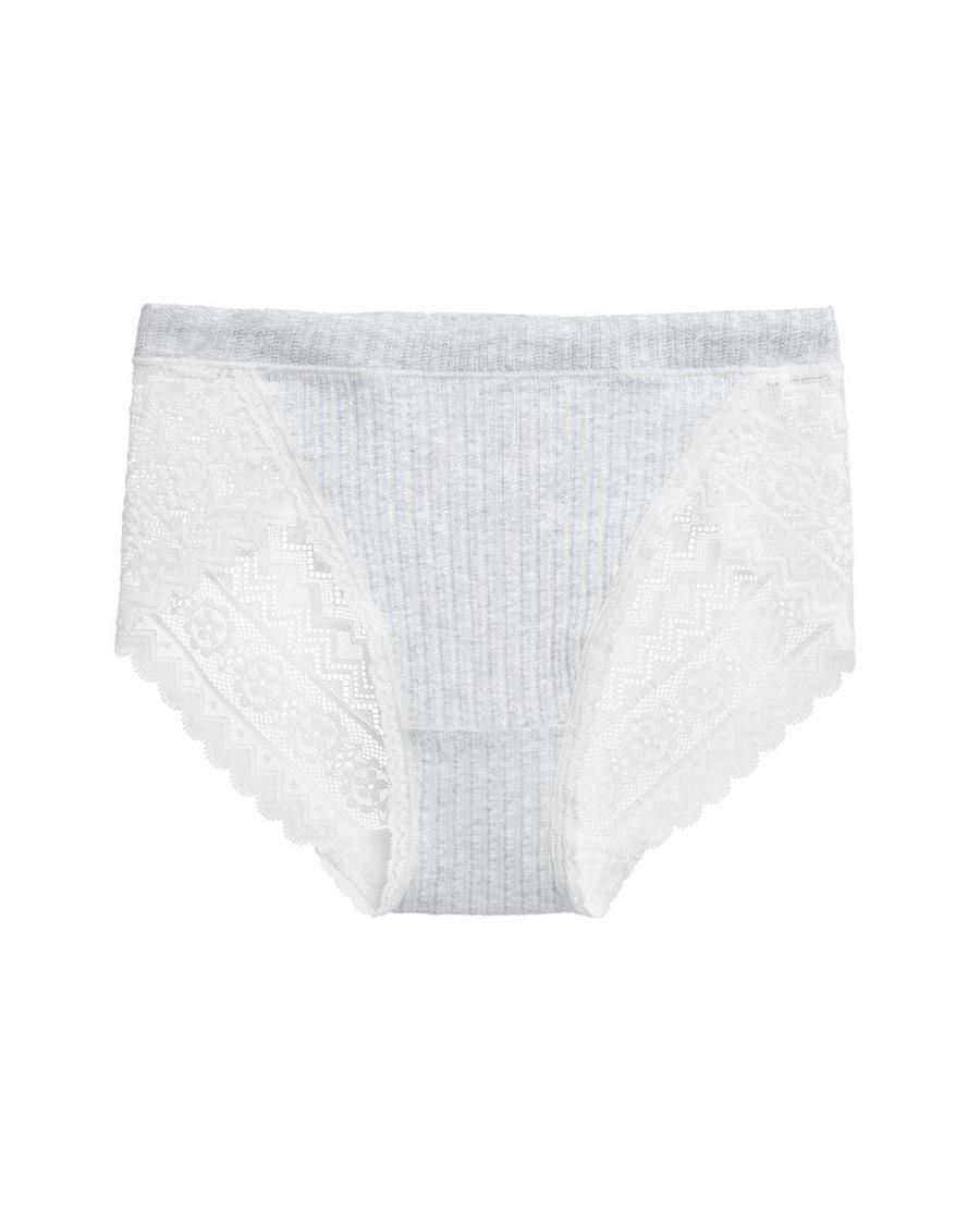 Aimer内裤|ag真人平台舒适螺纹中腰三角内裤AM223501