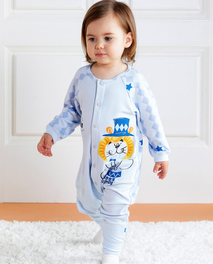 Aimer Baby睡衣|爱慕婴幼趣味马戏团长款分腿睡袋AB2451721