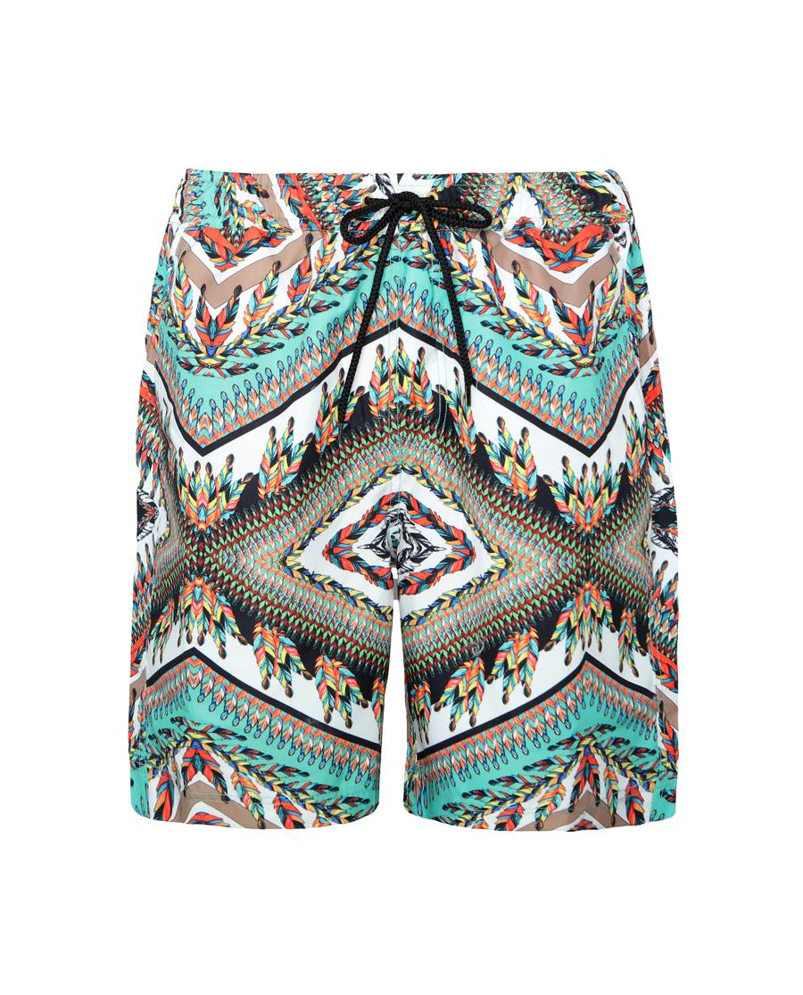 Aimer泳衣|ag真人平台莫奈花园男士沙滩裤AM600681