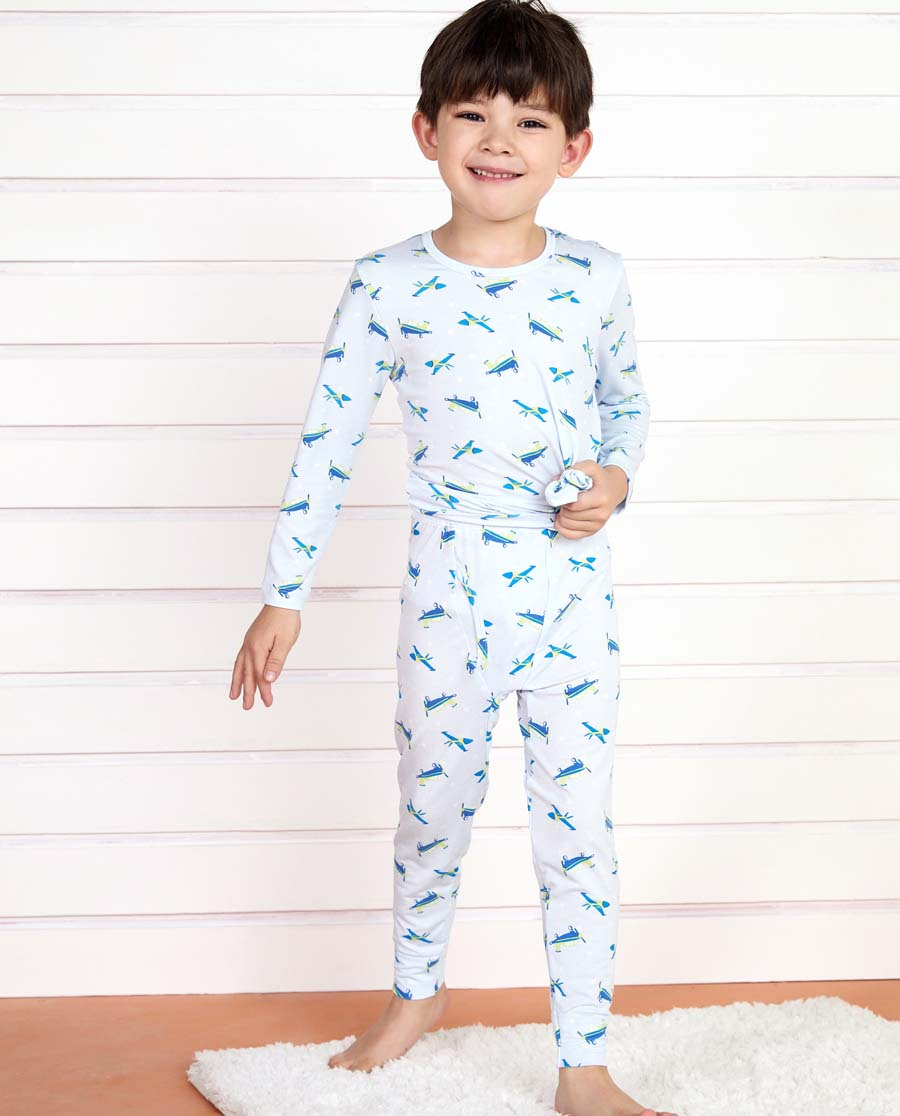 Aimer Kids保暖|爱慕儿童旋转飞机长裤AK2732131