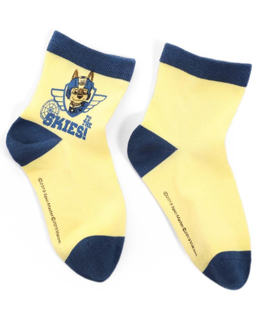 Aimer Kids襪子|愛慕兒童汪汪隊19AW襪子飛天戰隊獨幅印