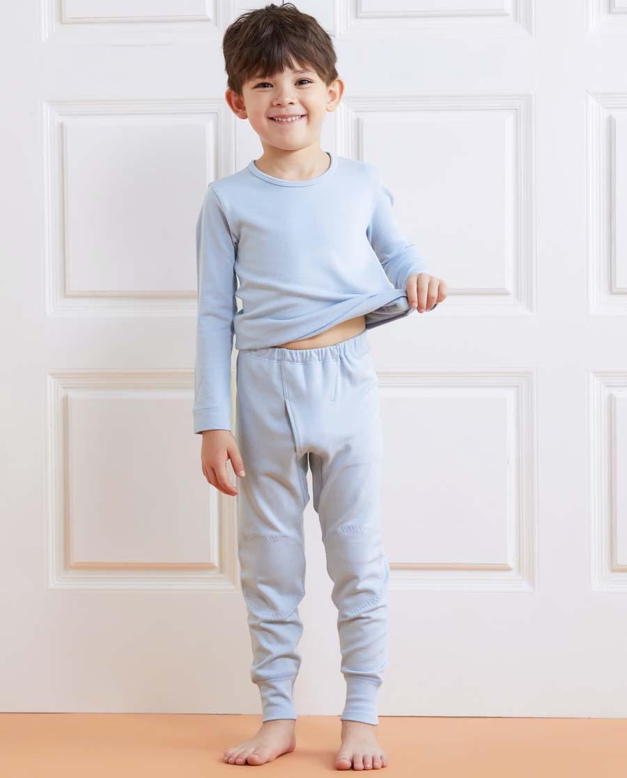 Aimer Kids保暖|亚洲城儿童暖阳双层长裤AK2732212
