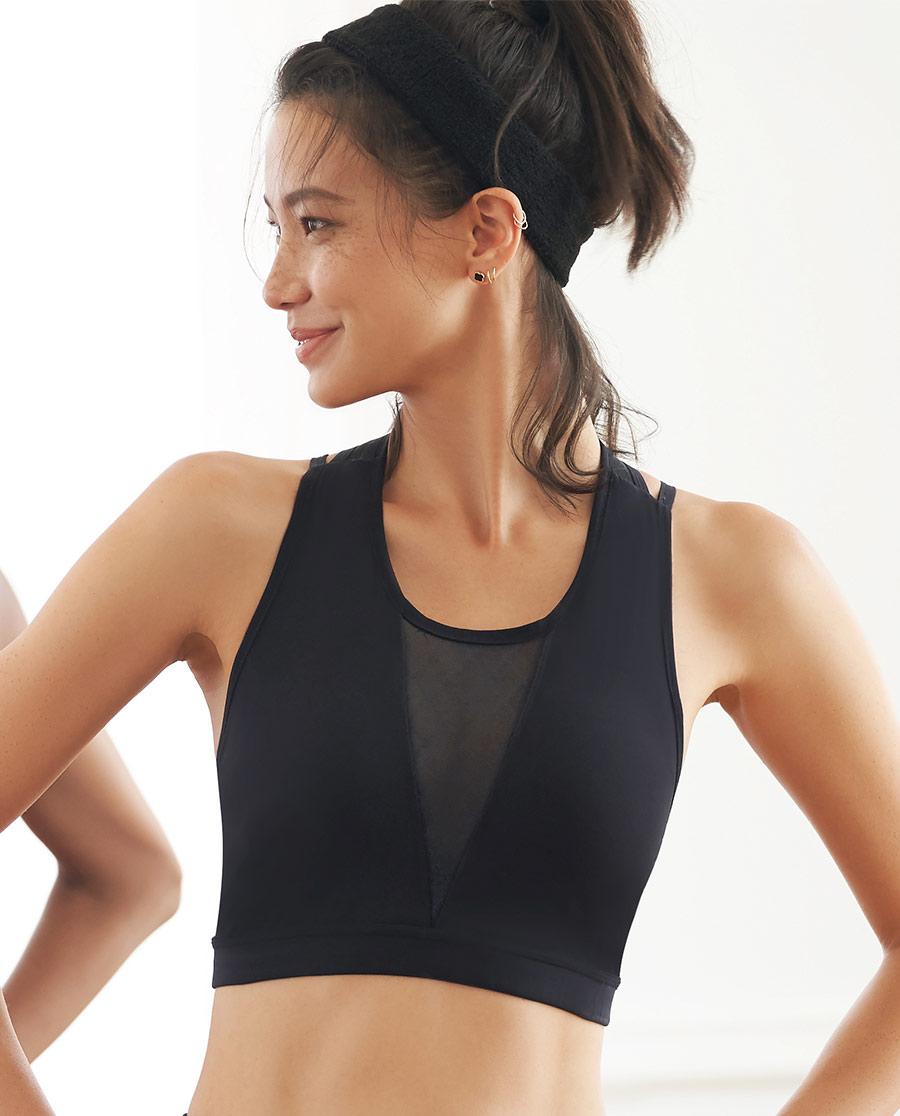 Aimer Sports文胸|ag真人平台运动美颜瑜伽低强度背心式文胸AS116J11