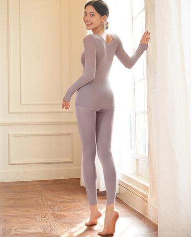 Aimer保暖|爱慕皮肤衣高腰打底九分裤AM733321