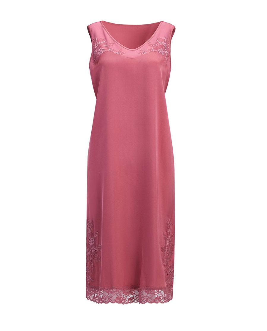 Aimer Home睡衣|爱慕家居丝滑柔情无袖睡裙AH440611