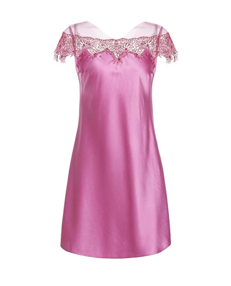 La Clover睡衣 LA CLOVER兰卡文瑰丽系列小袖睡裙