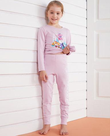 Aimer Kids保暖|爱慕儿童汪汪队暖阳新意女童单层长裤AK1731765