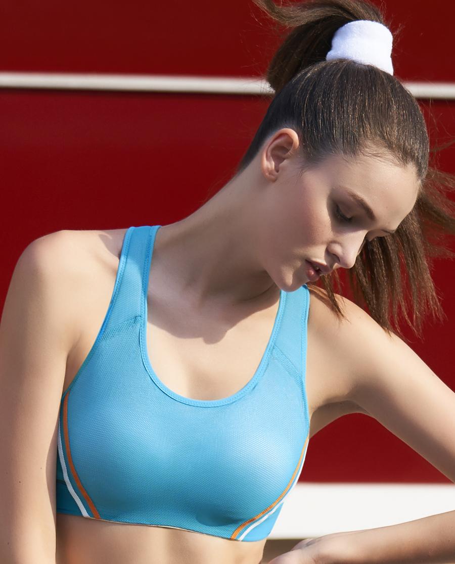 Aimer Sports文胸|愛慕運動美力領跑中強度背心式薄杯文胸AS116H33