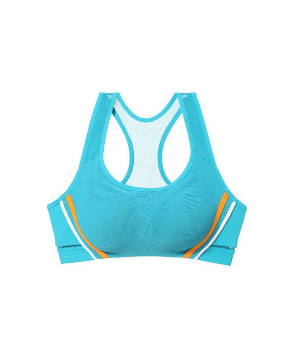 Aimer Sports文胸|爱慕运动美力领跑中强度背心式薄杯文胸AS116H33
