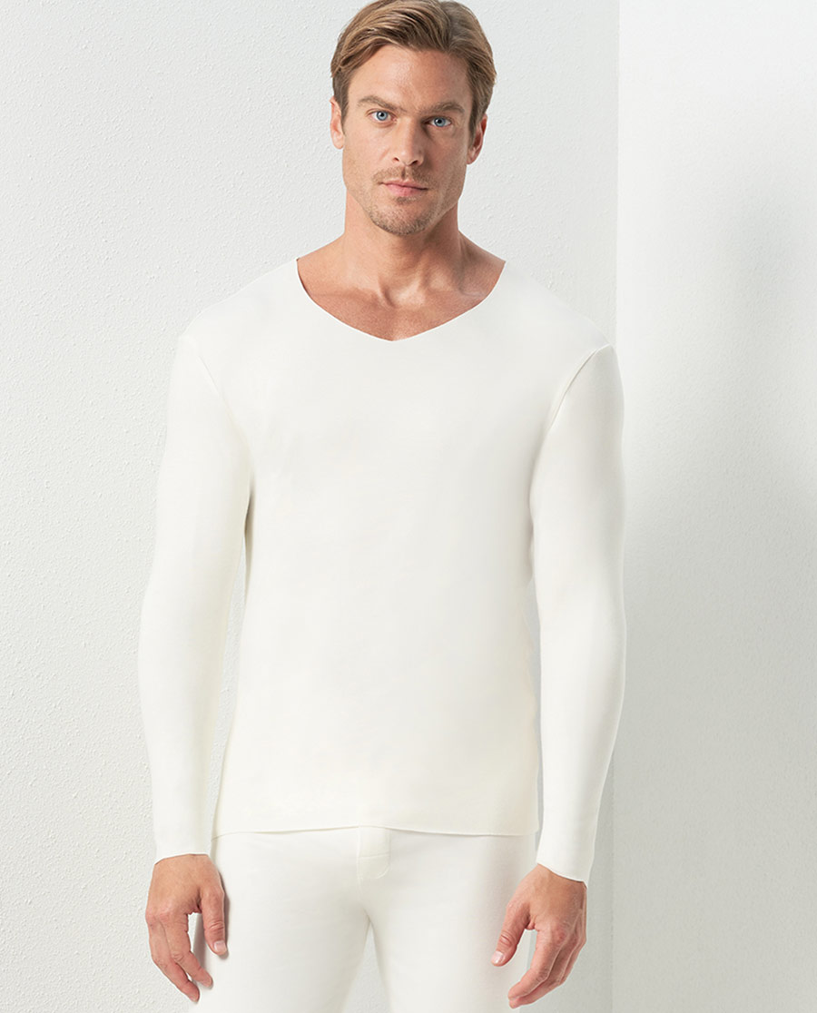 Aimer Men保暖|愛慕先生牛奶隨心暖衣NS72C431
