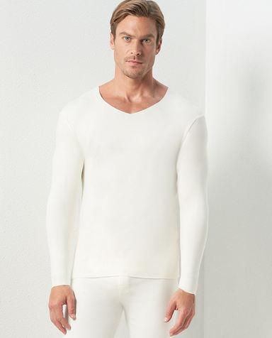 Aimer Men保暖|爱慕先生牛奶随心暖衣NS72C431