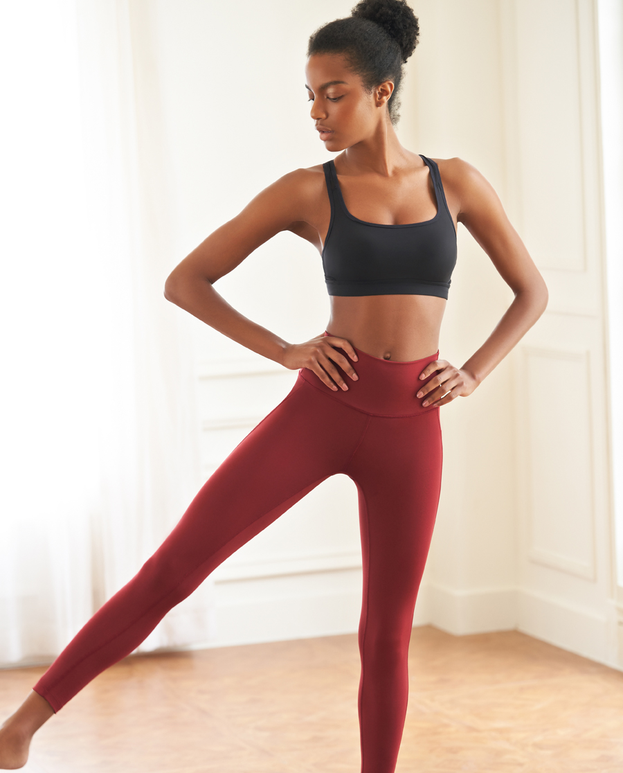 Aimer Sports运动装|爱慕运动女神裤宽腰瑜伽长裤AS153H5