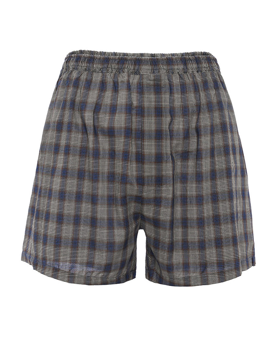 Aimer Men内裤|巴黎夫人先生梭织棉四角裤包腰四角裤NS24C