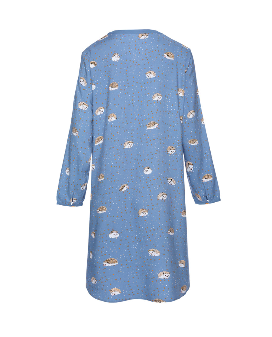 Aimer Home睡衣|爱慕家居乐享生活九分袖家居裙AH440571
