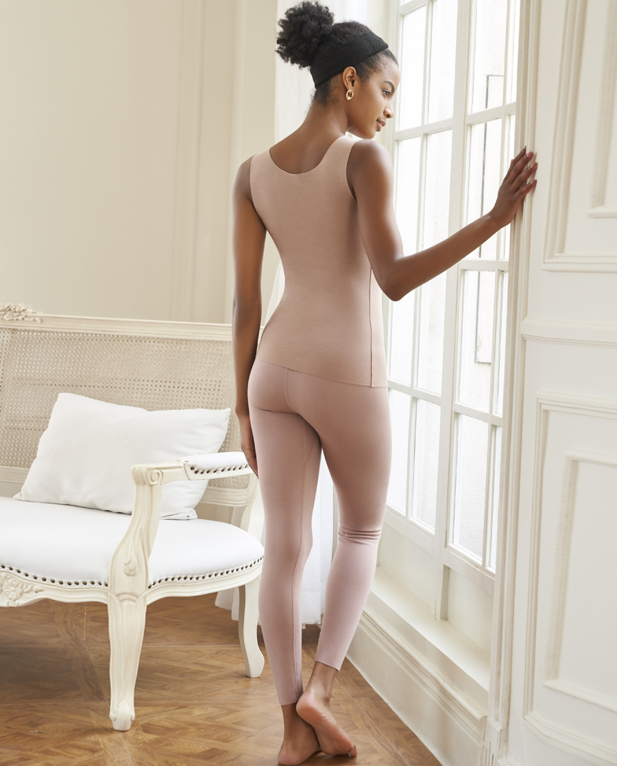 Aimer保暖 爱慕牛奶2系列单层长裤AM733291