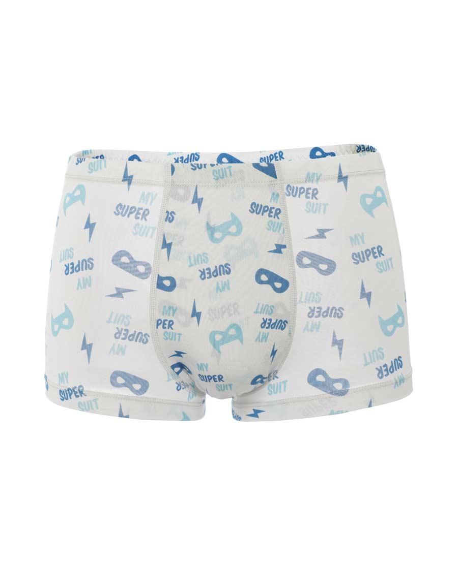 Aimer Junior內褲|愛慕少年2件裝隱形超人中腰平角褲雙件包A