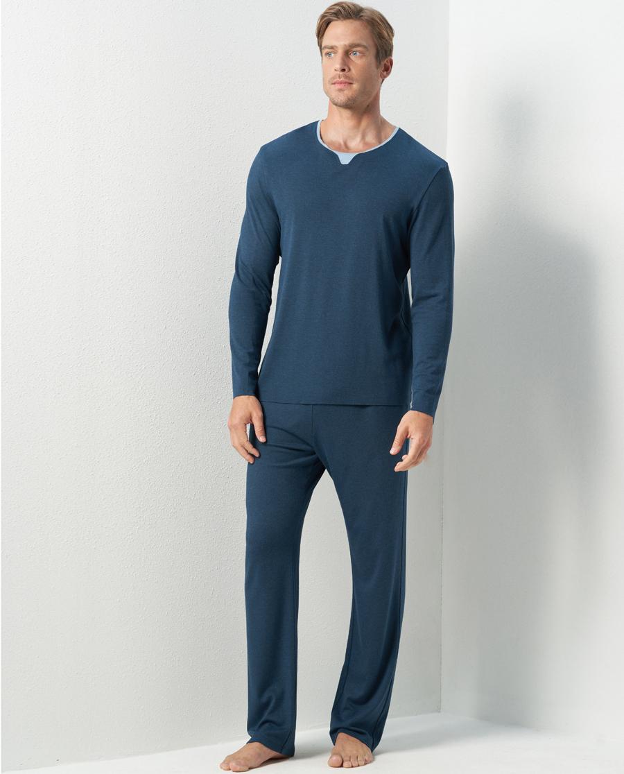 Aimer Men睡衣|爱慕先生牛奶睡眠家居长裤NS42C601