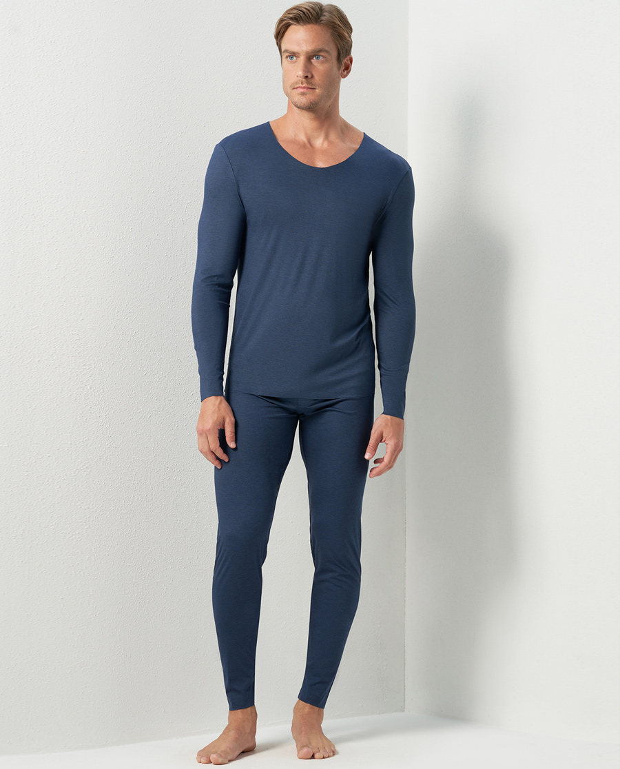 Aimer Men保暖|亚洲城娱乐纵享系列暖衣长裤NS73C461