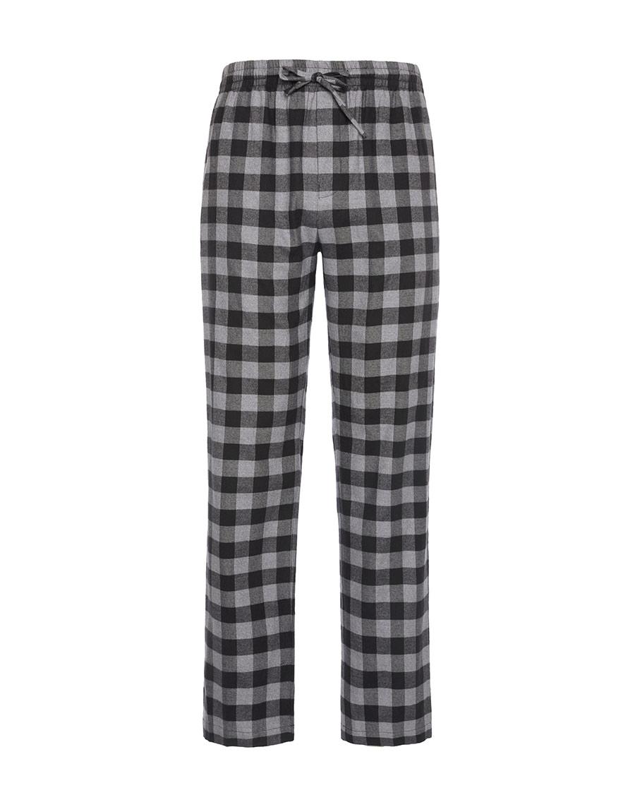 Body Wild睡衣|宝迪威德休闲暖格梭织长裤ZBN42PA1