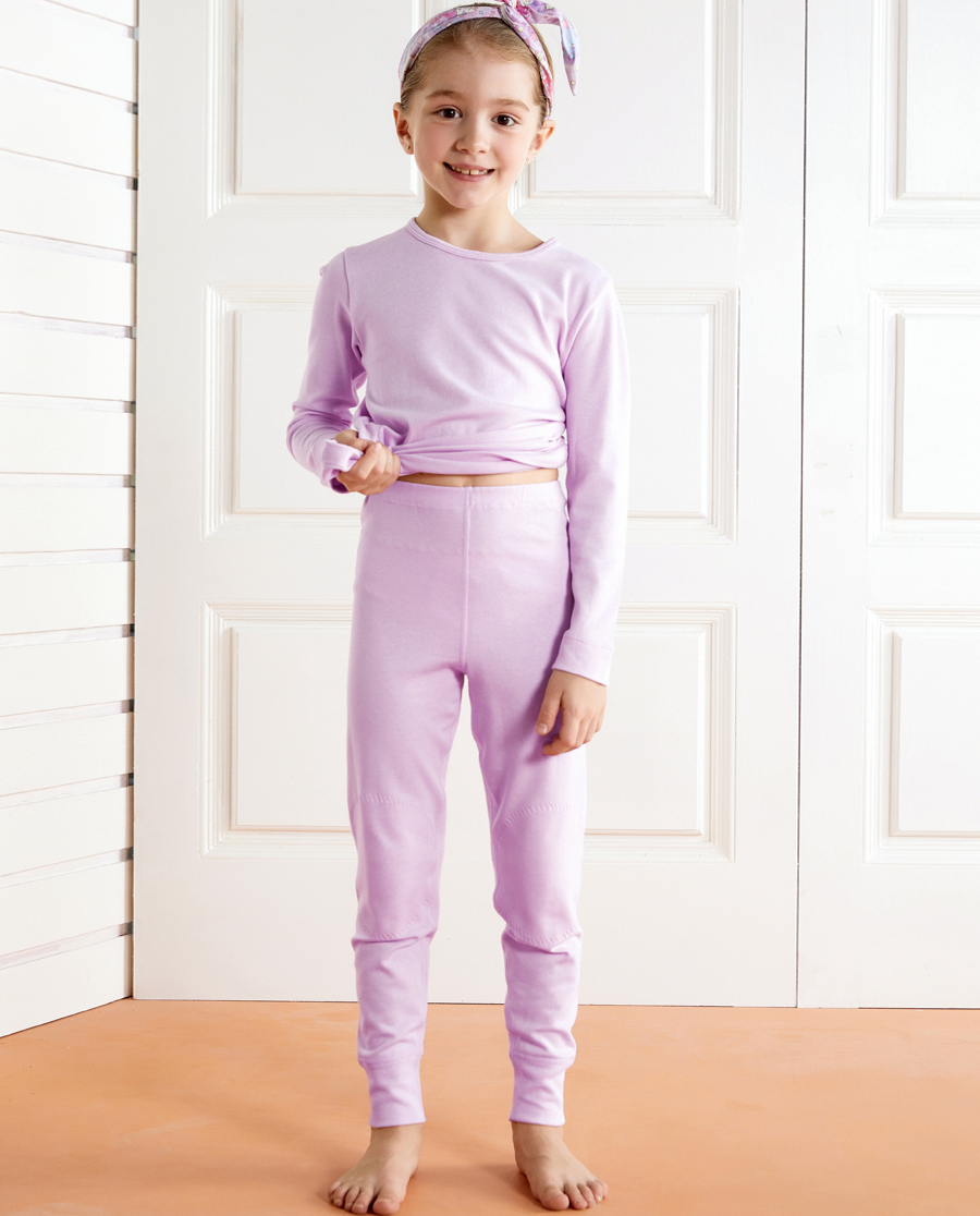 Aimer Kids保暖|愛慕兒童新暖尚雙層長褲AK1732192