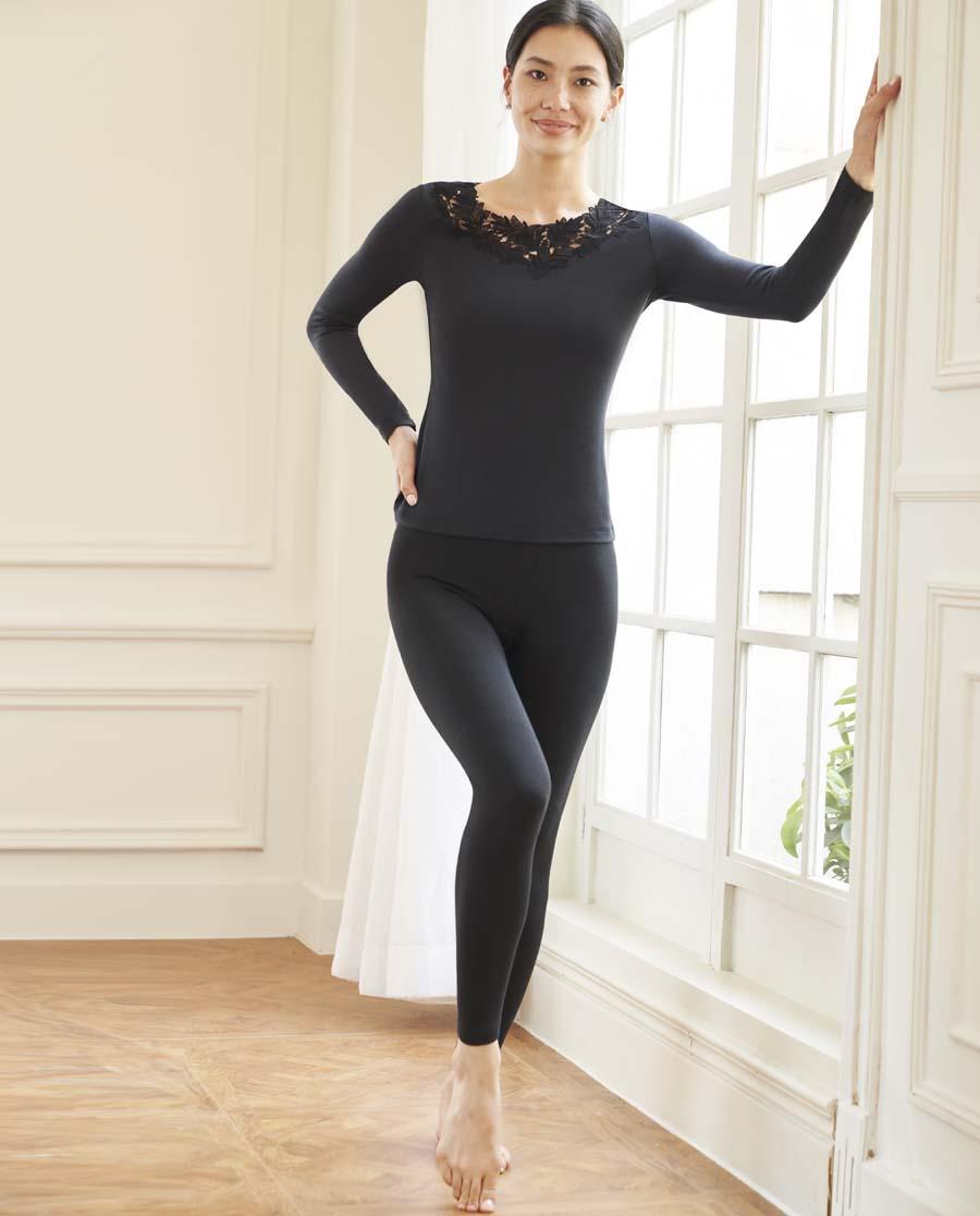 爱慕暖绒单层长裤AM733301