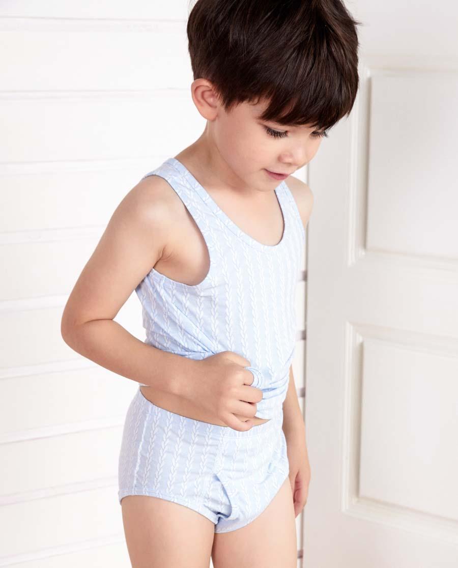 Aimer Kids內褲|愛慕兒童溫暖牛奶中腰三角內褲AK2221