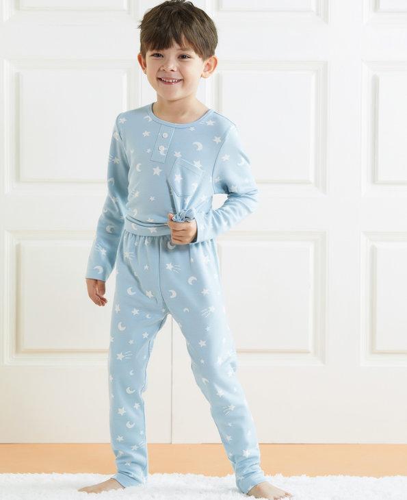 Aimer Kids睡衣 爱慕儿童星月传说男童家居长裤AK2422051
