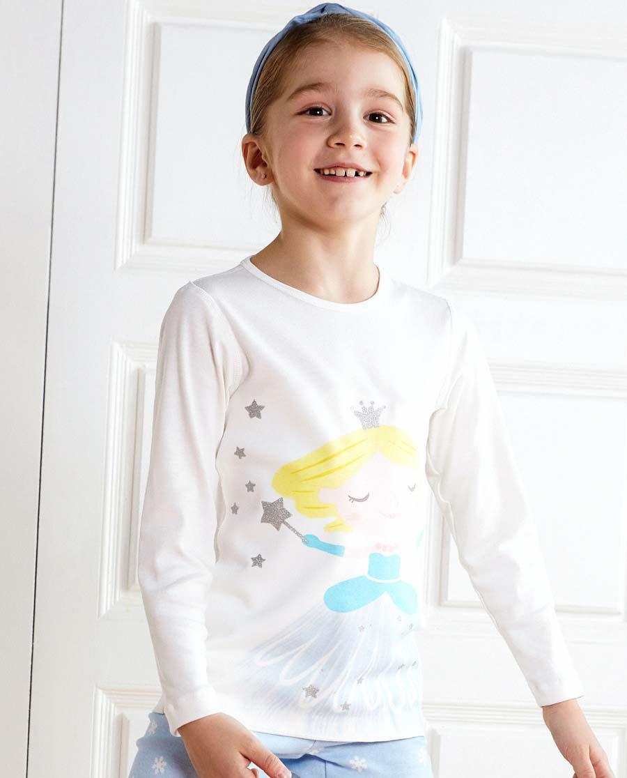Aimer Kids保暖|愛慕兒童魔力雪公主長袖上衣AK17221