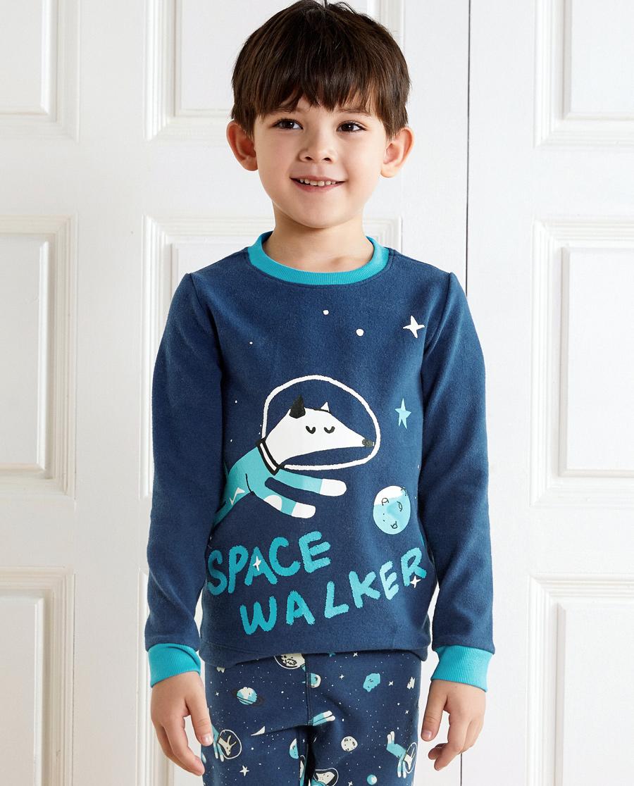 Aimer Kids保暖|爱慕儿童夜空遨游长袖上衣AK272217